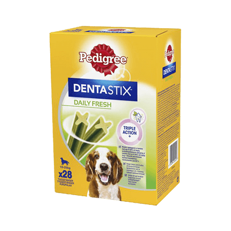 PEDIGREE<sup>®</sup> DENTASTIX™ DAILY FRESH Medium 28x