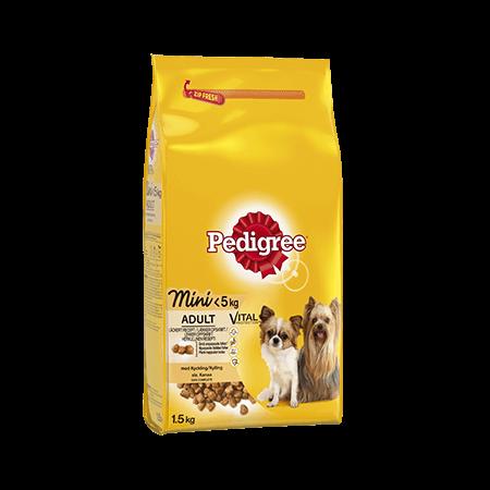 PEDIGREE®<sup>®</sup> Mini Kylling < 5 kg