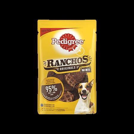 PEDIGREE<sup>®</sup> Ranchos™  Minis Kylling