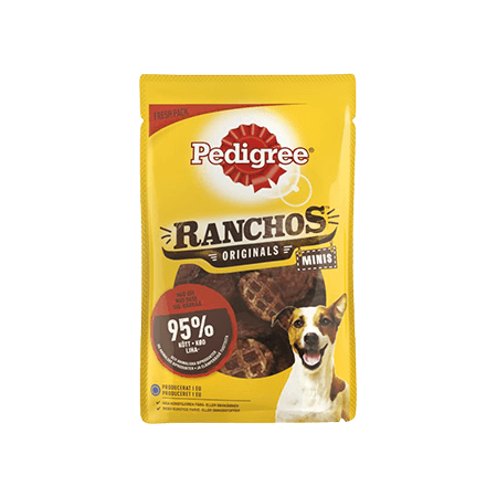 PEDIGREE<sup>®</sup> Ranchos™  Minis Okse