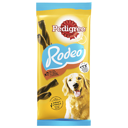 Pedigree<sup>®</sup> Rodeo Oksekød 7 stk