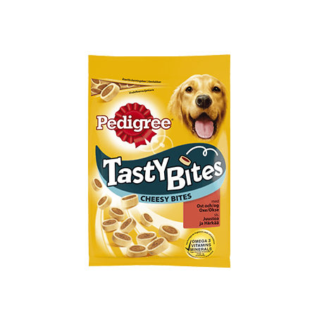 PEDIGREE®<sup>®</sup> Tasty Bites Cheesy Bites 140g