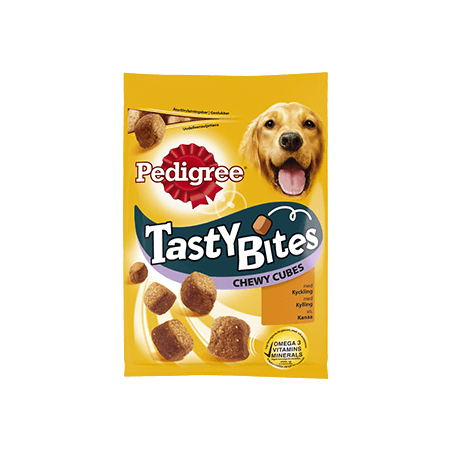 Pedigree<sup>®</sup> Tasty Bites Chewy Cubes 130g