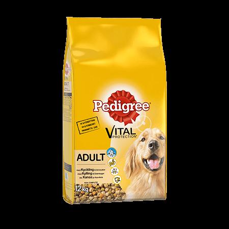 Pedigree<sup>®</sup> Vital Protection Adult med Kylling  12kg