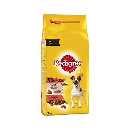PEDIGREE<sup>®</sup> Vital Protection Adult Mini <10 kg Okse