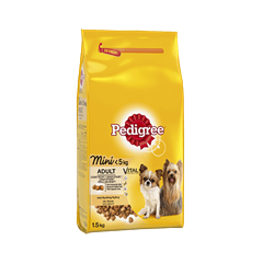 PEDIGREE®  Vital Protection Adult Mini <5kg med Kylling
