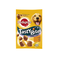 PEDIGREE® Tasty Bites Chewy Cubes 130g