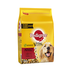 PEDIGREE® Vital Protection Adult med Oksekød