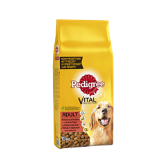 PEDIGREE® Vital Protection Adult Oksekød & Fjerkræ