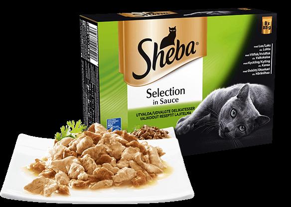 Mixed Collection med Laks, Hvidfisk, Kylling og Oksekød