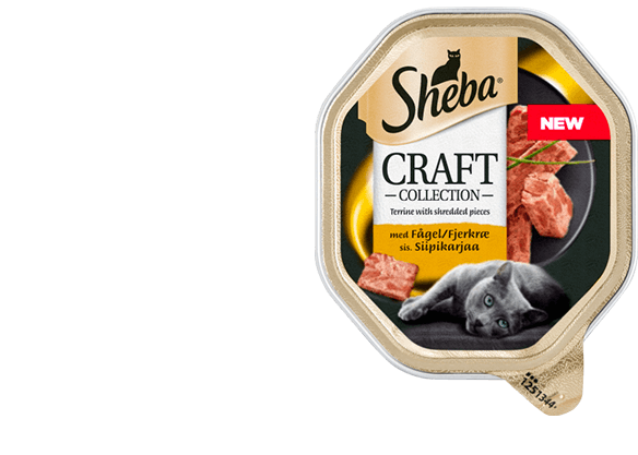 Sheba® Craft fjerkræ