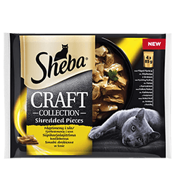 Sheba® Craft fjerkræ 4-pack