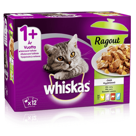 Whiskas® Ragout Mixed Menu