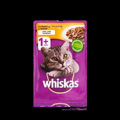 Whiskas® 1+ Kylling i gelé