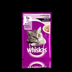 Whiskas® 1+ Laks i sovs