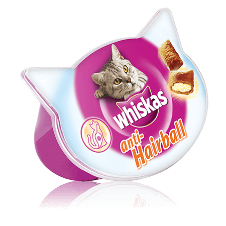 Whiskas Anti-Hairball kassimaius