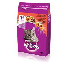 Whiskas<sup>®</sup> kuivtoit loomalihaga