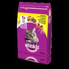 Whiskas<sup>®</sup> kuivtoit kanalihaga