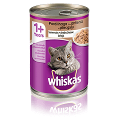 Whiskas<sup>®</sup> konserv pardilihaga
