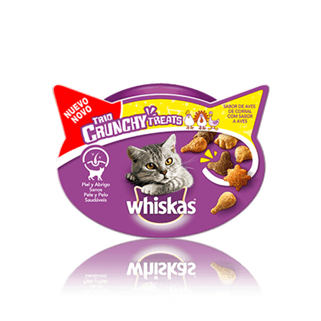 WHISKAS® Snacks Trio Crunchy Aves