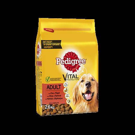 Pedigree® Vital Protection Adult Häränlihaa ja Siipikarjaa