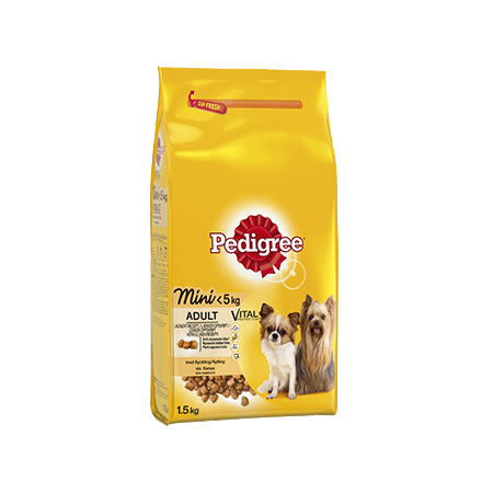 Pedigree® Mini <5kg Kanaa