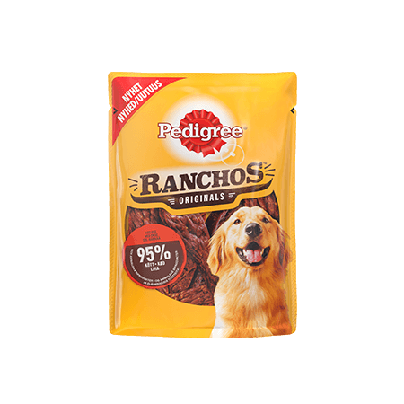 PEDIGREE®® Ranchos Originals Härkää 70g