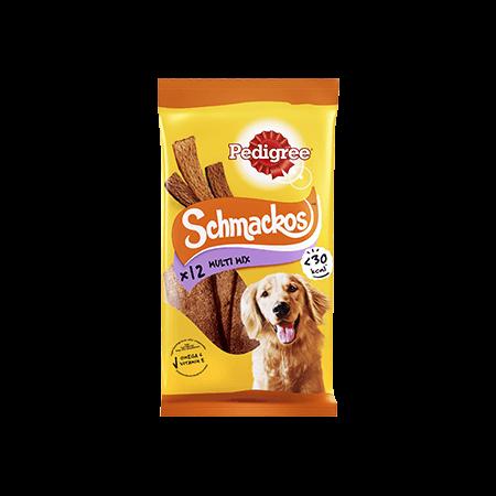 PEDIGREE® Schmackos Multi Lajitelma 12pc