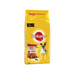 PEDIGREE® Mini <10kg Häränlihaa ja Kasviksia