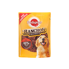 PEDIGREE® Ranchos Originals Härkää 70g
