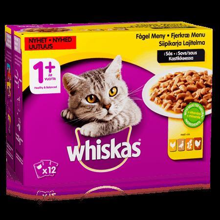 Whiskas® 1+ Siipikarjalaj Kast