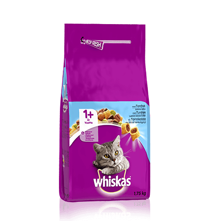 Whiskas® 1+ Tonnikalaa 1,75kg