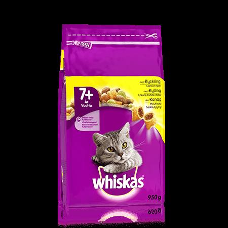 Whiskas® 7+ Kanaa 950g