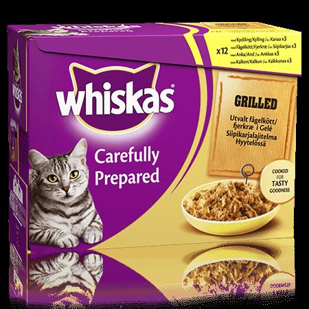 Whiskas® Grillattua Siipikarjaa 12x85g