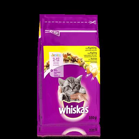 Whiskas® Junior Kanaa 350g