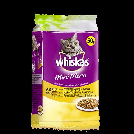 Whiskas® Mini Menu 6x50g Siipikarja