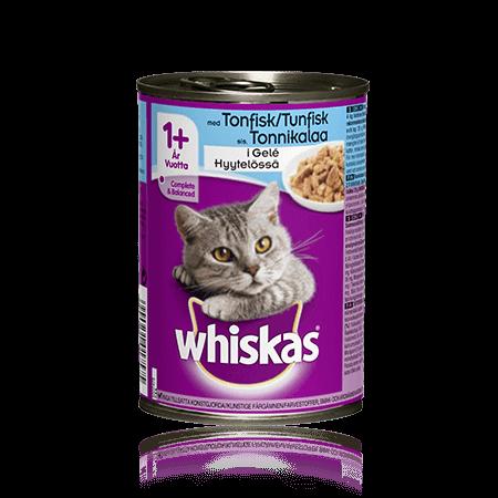 Whiskas® Tonnikalaa hyytelössä