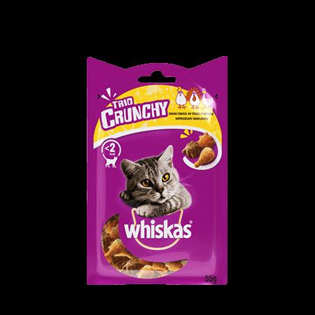 Whiskas® Trio Crunchy Siipikarja Mix