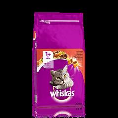 Whiskas® 1+ Häränlihaa 3,8kg