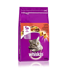 Whiskas® 1+ Häränlihaa 950g