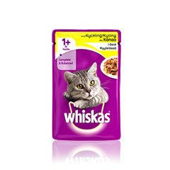 Whiskas® 1+ Kanaa hyytelössä 100g