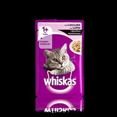 Whiskas® 1+ Lohta Kastikkeessa 100g
