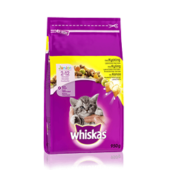 Whiskas® Junior Kanaa 950g