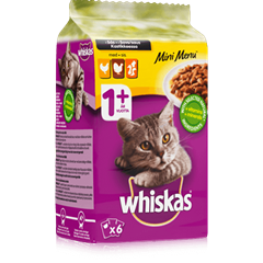 Whiskas® Mini Menu 6x50g Siipikarja