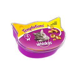 Whiskas® Temptations Kana ja Juusto