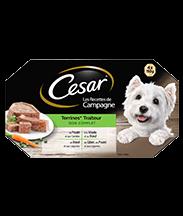 CESAR® Traiteur Barquettes en terrine 4 variétés 4x150g