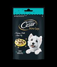 Les Tendres Délices CESAR® Mini-Joys au Fromage & au Poulet 100g