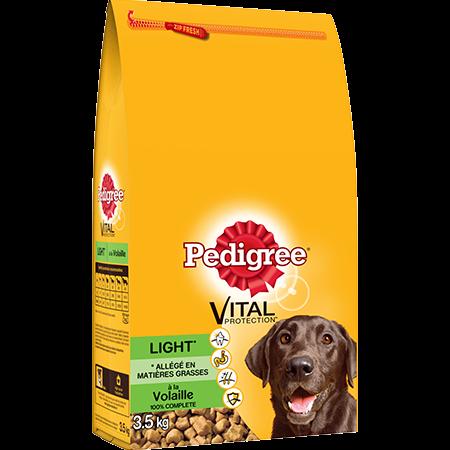 Croquettes Light à la volaille 3,5kg pour chien adulte