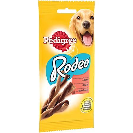 PEDIGREE® RODEO™ Au Boeuf 8 sticks