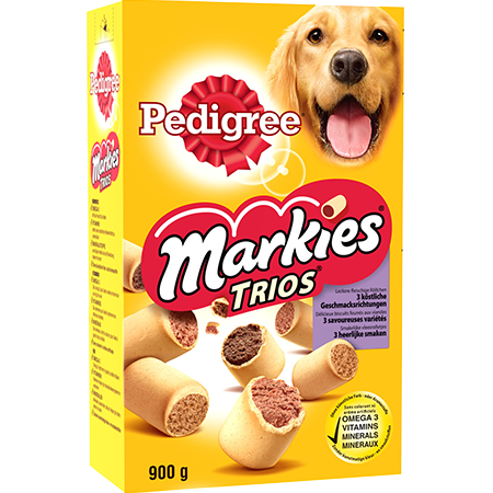 Biscuits Markies™ Trios pour chien adulte